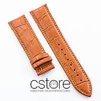 Для часов кожаный ремешок универсальный brown 18мм, 20мм, 22мм, 24мм (07508)