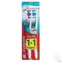 Зубная щетка Colgate Клин 360 1+1 средняя