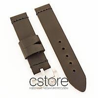 Кожаный ремешок для часов brown 22мм, 24мм, 26мм (07577)