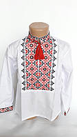 Вышитая рубашка для мальчика