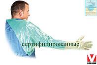 Перчатки ректальное длинные с рукавом для ветеринаров 95 см KRUUSE Дания KRU-RINSO Z