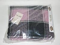 Плед Vladi Palermo черно-розовый 140*200