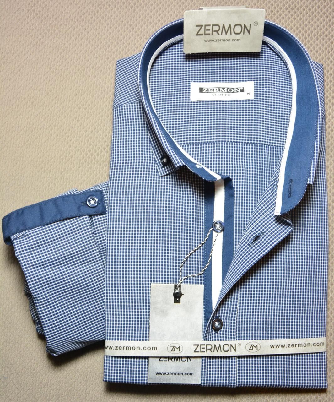 Приталенная рубашка ZERMON (размер XXL)