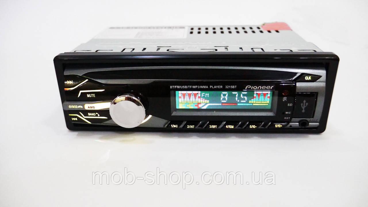 Автомагнитола пионер Pioneer 3215BT Bluetooth USB AUX, фото 3