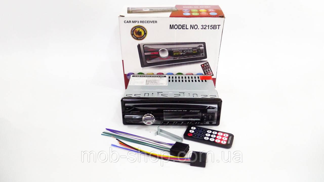 Автомагнитола пионер Pioneer 3215BT Bluetooth USB AUX, фото 6