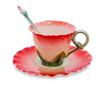 Фарфоровая чайная пара Торения (Pavone) FM- 01/24, фото 1