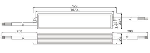 Герметичный блок питания 12 Вольт 30W 2.5А IP66, фото 2