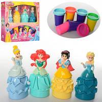 Пластилин  для девочек Принцессы