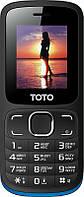 Телефон TOTO A1 Dual Sim (Black/Blue)