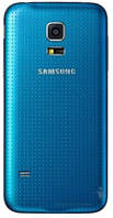 Задняя часть корпуса (крышка аккумулятора) Samsung SM-G800H Galaxy S5 mini Original Blue