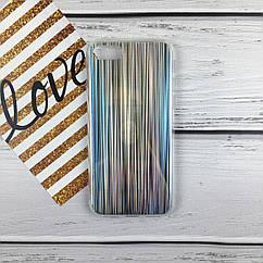 Чехол накладка на iPhone 7/8  радуга, силикон