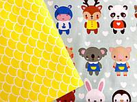 """Детское постельное белье """"Маленькие зверята"""" (100 % хлопок)"""