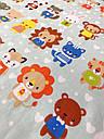 """Детское постельное белье """"Маленькие зверята"""" (100 % хлопок), фото 2"""