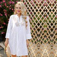 80541369af5 Летнее платье из натурального индийского хлопка 321 F
