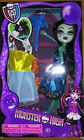 Кукла Monster High 8895 MH 4 вида, с одеждой, в коробке