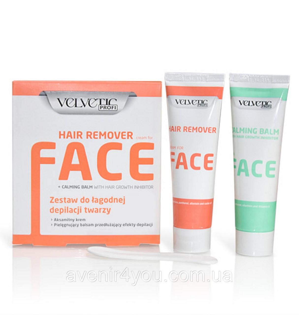 VELVETIC Набор для легкого удаления волос на лице