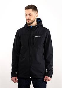 Мужская весенняя черная куртка Urban Planet WN7 NVY
