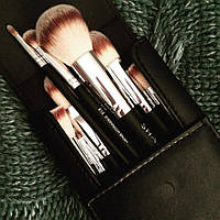 Подарочный набор кистей Shany для макияжа Black OMBRÉ Pro 10 PC