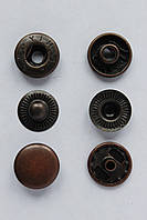 Набор кнопок каппа 15 мм медного цвета