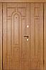 Входная дверь полуторная серия Премиум модель 110