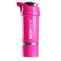 Body & Fit Cyclone Shaker - 550 ml Pink, фото 1