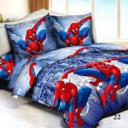 Покрывало стеганное Человек паук