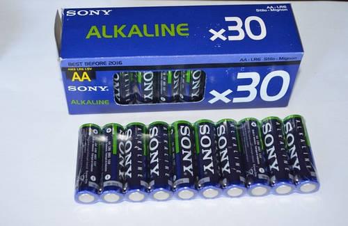 Батарейки LR6 Sony Alkaline