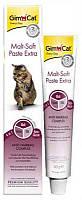 Паста ДжимКет (GimCat Malt-Soft Extra) для выведения шерсти у кошек 20 гр
