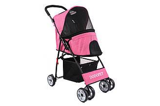 Коляска для собак и котов Do Do Pet, Glam pet Pink  розовый
