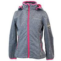 Куртка softshell демисезонная JANET для девочки 14-16 лет, размеры 164,170 ТМ HUPPA 18000000-00218