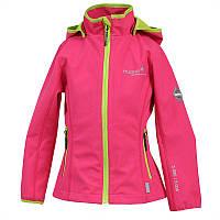 Куртка softshell демисезонная JANET для девочки р. 116, 122, 140-152 ТМ HUPPA 18000000-00163