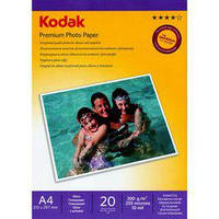 Бумага Kodak A4 Premium Photo Paper - Gloss 200gsm 20л (5740-804)