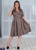 Платье (50, 52, 54, 56) — коттон купить оптом и в розницу в одессе  7км