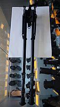 Сошки ССОР 29XL экстра высокие 43-57 см с качалкой. Крепление на антабку. Ступенчатая регулировка.