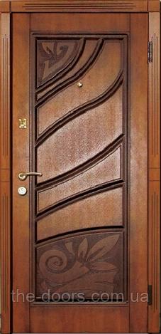 Входная дверь Каскад серия Премиум модель Фиона