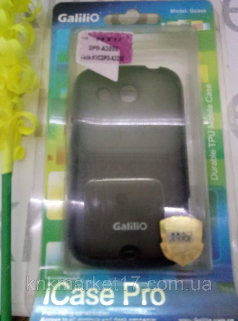 Чохол для HTC A320e (силікон чорний)