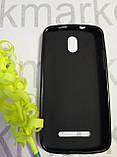 Чехол для  HTC  Desire 300 (силикон черный), фото 2