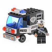 Детский конструктор (Патруль) полицейская машина IM62B