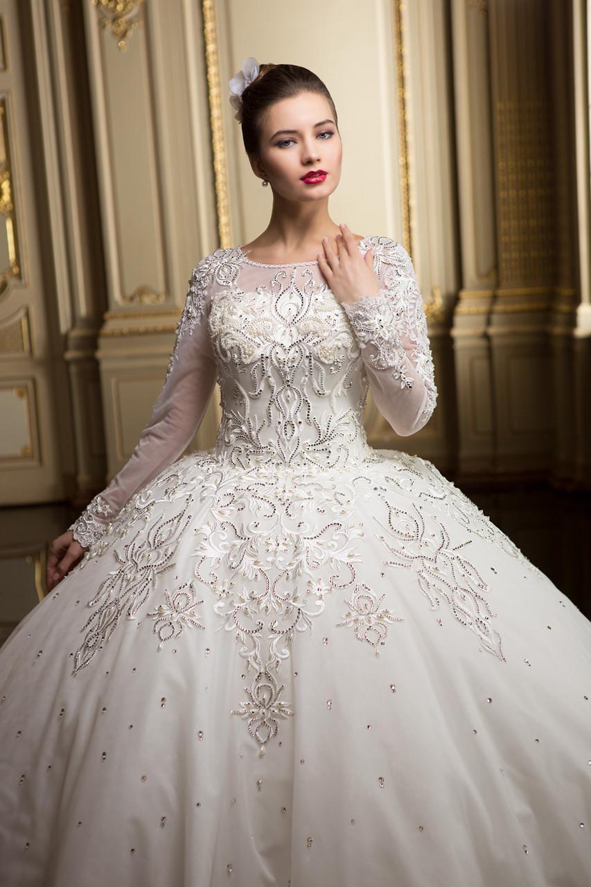 fdc9a86ffc9 Нежное королевское свадебное платье - Свадебный Шик в Харькове