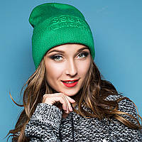 Молодежная спортивная шапка с отворотом, фото 1