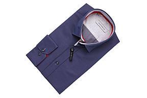 Темно-синяя рубашка KS 1755-4 разм. L, фото 2