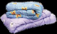 Одеяло полуторное полушерсть