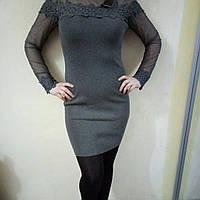 Платье офисное стильное