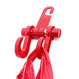 Автомобильный крюк для сумок и пакетов Car Hook CC-598 Red, фото 2