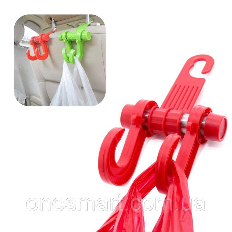 Автомобильный крюк для сумок и пакетов Car Hook CC-598 Red