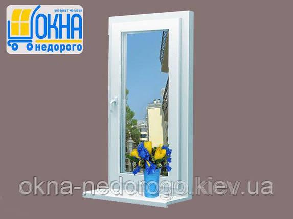 Одностворчатое окно Rehau 60, фото 2