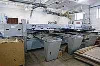 Пильный центр бу Holzma HPP11/38 ProfiLine для программируемого форматного раскроя плит, фото 1