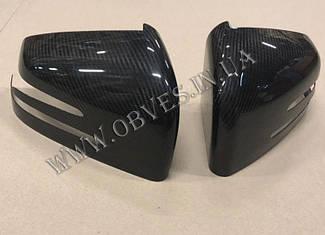 Карбоновые накладки на зеркала Mercedes G-class W463