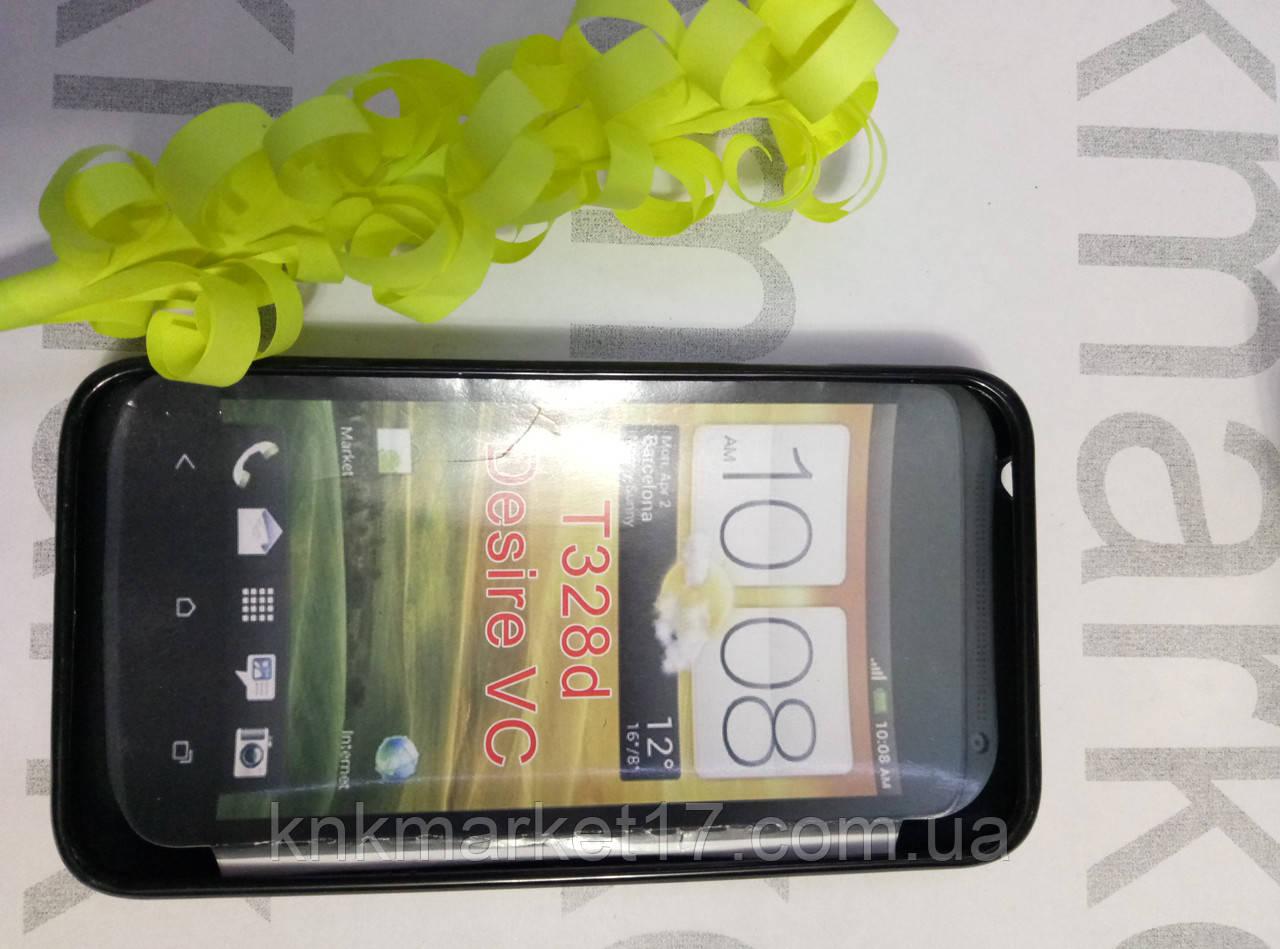Чохол для HTC Desire VS T328d (силікон чорний)