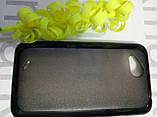 Чохол для HTC Desire VS T328d (силікон чорний), фото 3